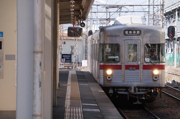 2018-03-15 長野電鉄N8編成 信州中野行き