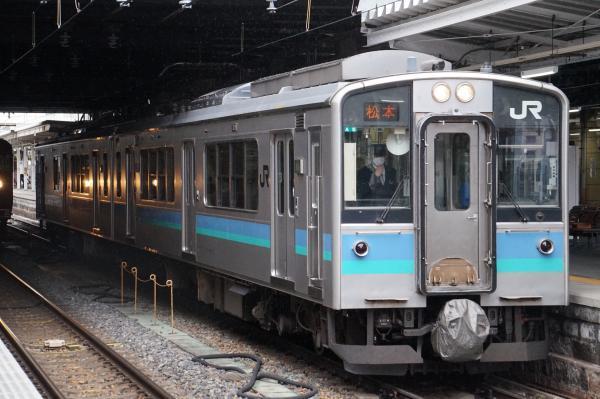 2018-03-16 モトA5編成 ワンマン快速松本行き