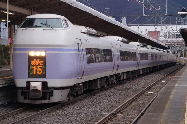 2018-03-16 モトS1_S21編成 スーパーあずさ15号松本行き1