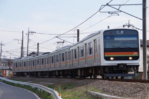 2018-03-26 ハエ63編成 川越行き