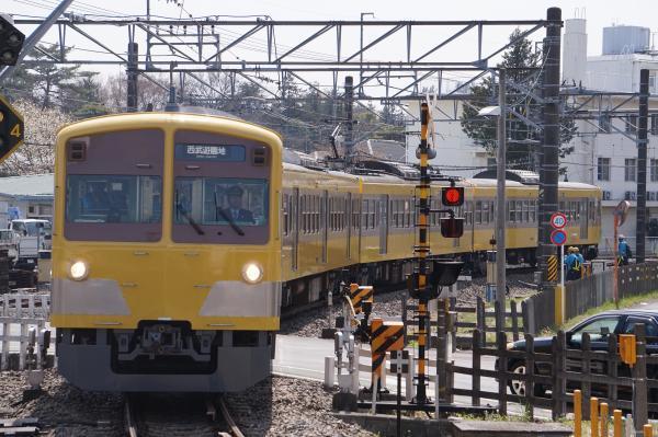 2018-03-26 西武249F 西武遊園地行き 6037レ