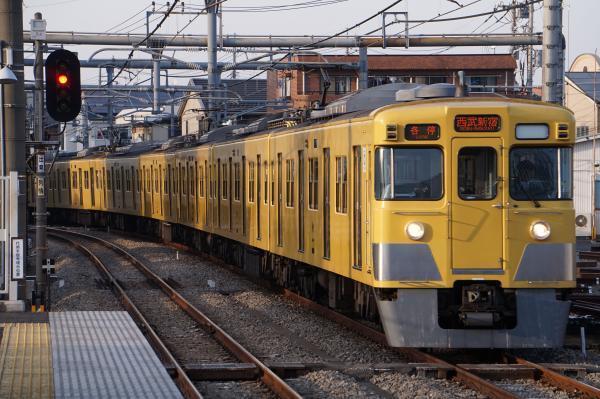 2018-03-26 西武2001F 各停西武新宿行き 5636レ