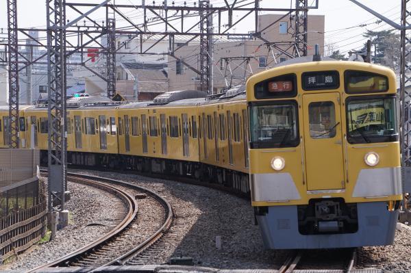2018-03-26 西武2051F_2517F 急行拝島行き 2313レ