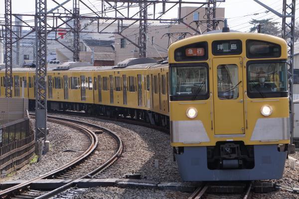 2018-03-26 西武2065F_2453F 急行拝島行き 2309レ