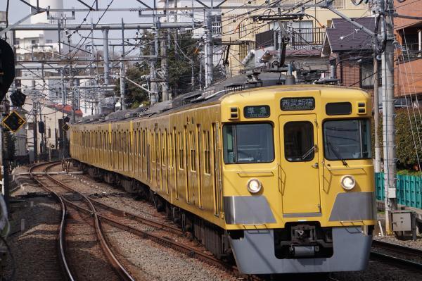 2018-03-26 西武2405F_2083F 準急西武新宿行き 4614レ