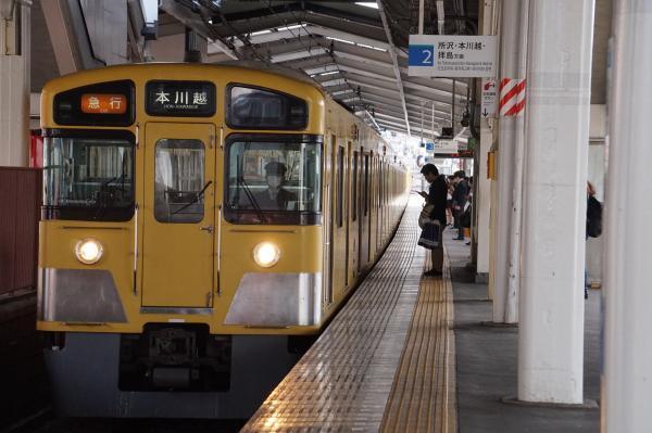 2018-03-26 西武2459F_2057F 急行本川越行き 2627レ