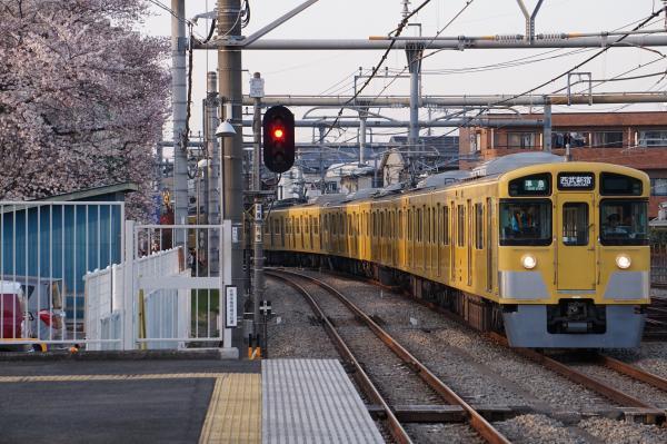 2018-03-26 西武2531F_2033F 準急西武新宿行き 4810レ