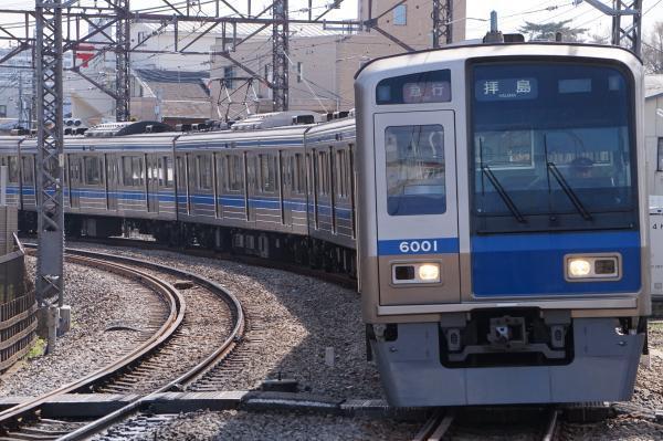 2018-03-26 西武6101F 急行拝島行き 2311レ