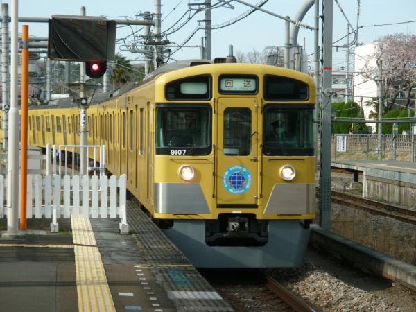 2014-03-31 西武9107F 4128レへの送り込み回送