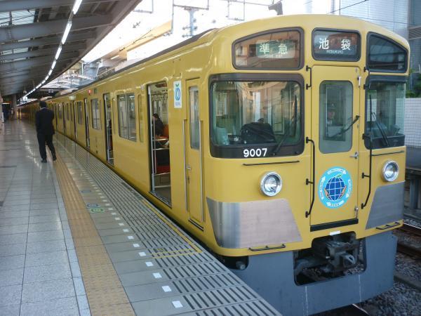2014-11-14 西武9107F 準急池袋行き1 4128レ
