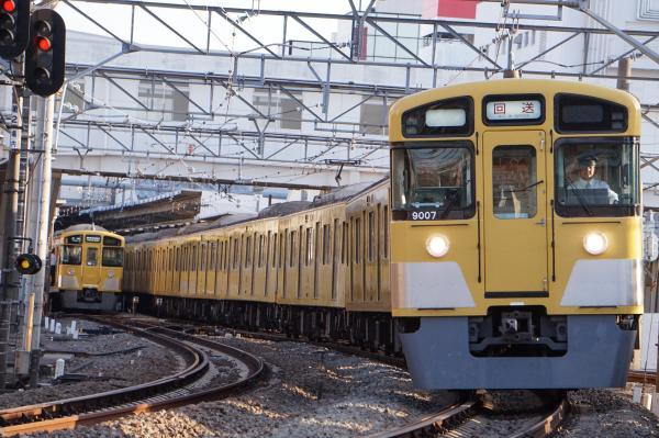 2017-04-15 西武9107F 回送