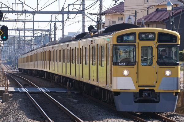 2017-11-03 西武9107F 快速飯能行き