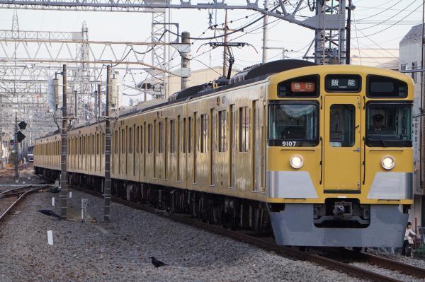 2017-11-03 西武9107F 急行飯能行き 2141レ