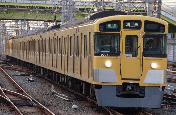 2017-11-03 西武9107F 準急池袋行き 4134レ
