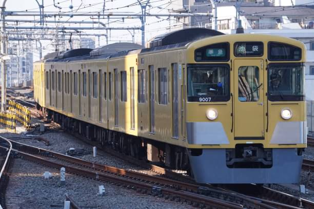 2017-12-21 西武9107F 準急池袋行き 4302レ