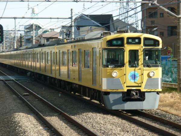 2014-03-21 西武9107F 準急飯能行き1