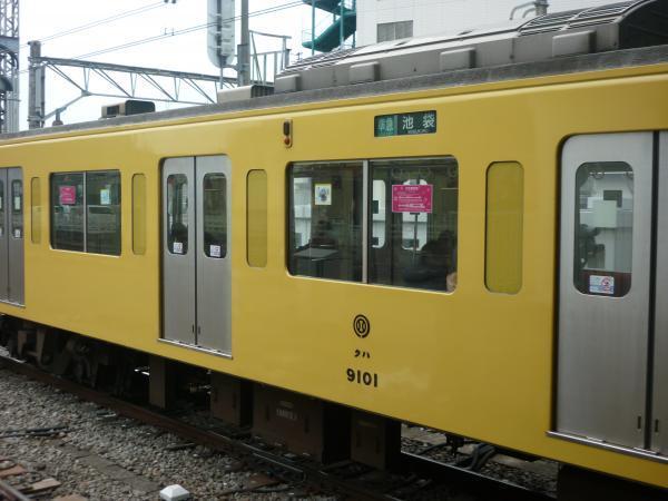 2013-12-27 西武9101F 準急池袋行き 側面写真