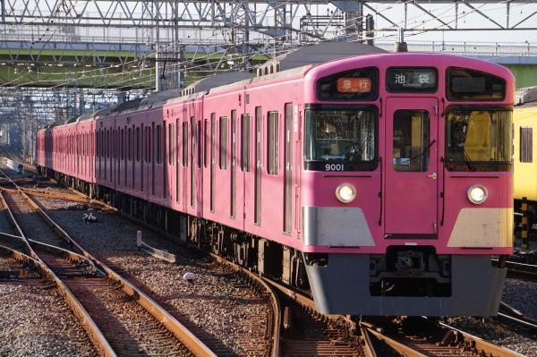 2017-11-03 西武9101F 急行池袋行き 2154レ