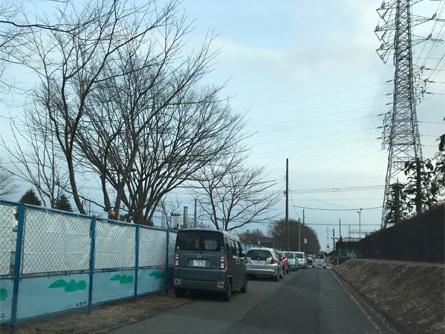 グリーンベルト無法駐車_180225