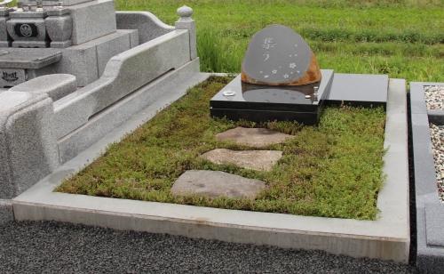 自然石墓所201401