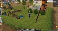 釣りイベは農場で釣り