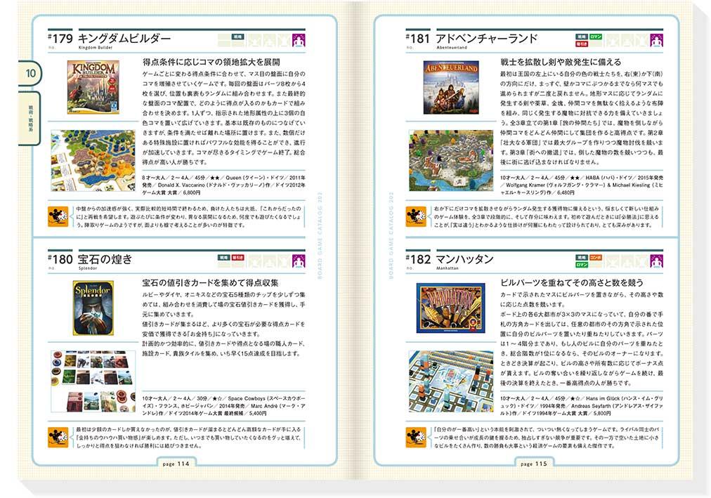 ボードゲームカタログ202:見開きP114