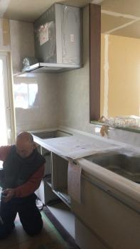 キッチン設置 (1)