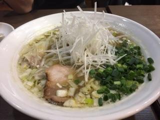 海老塩ワンタン麺
