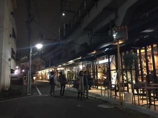 五反田東急線高架下