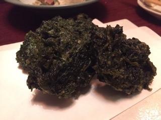 アオサ海苔天ぷら