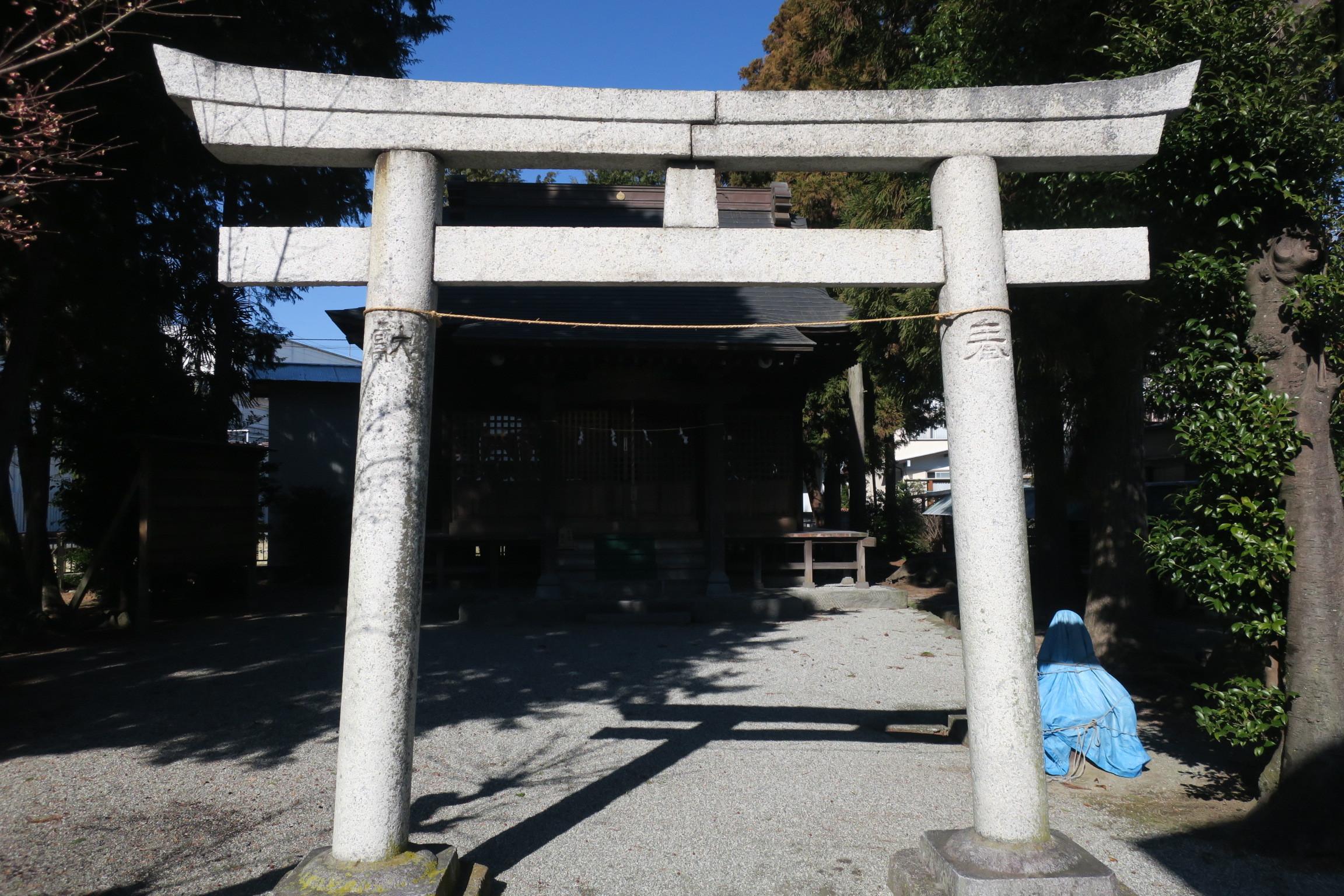 神社仏閣16「五社稲荷神社」小田急小田原線富水付近6