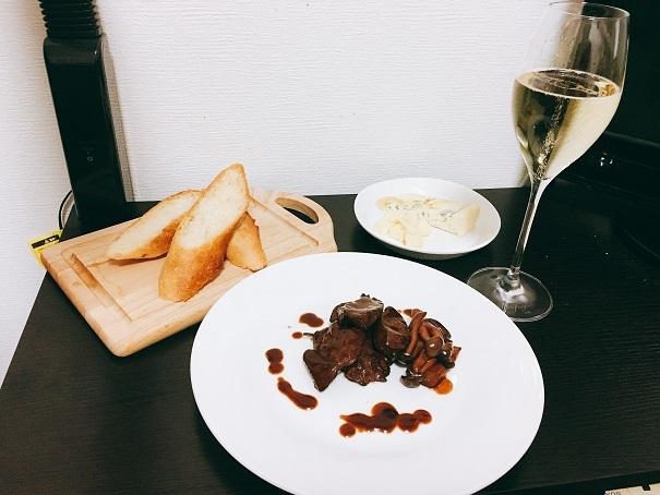 鶏むね肉のワイン煮_001