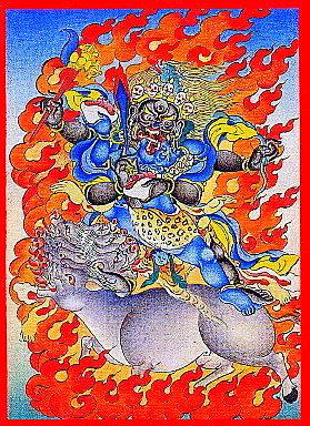 チベットの馬頭明王