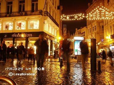 雨上がり夜のブリュッセル(BrusselBruxelles)downsize