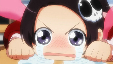 泣く子供アニメ