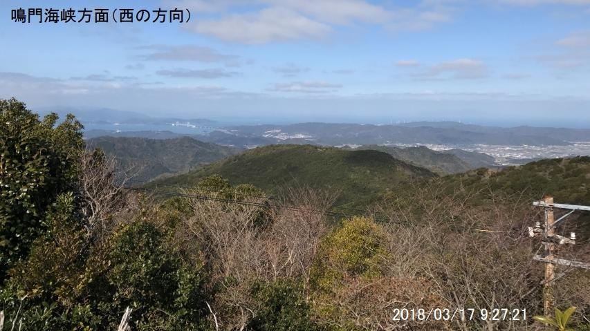 2018年3月17日、諭鶴羽山で霜柱が見られた