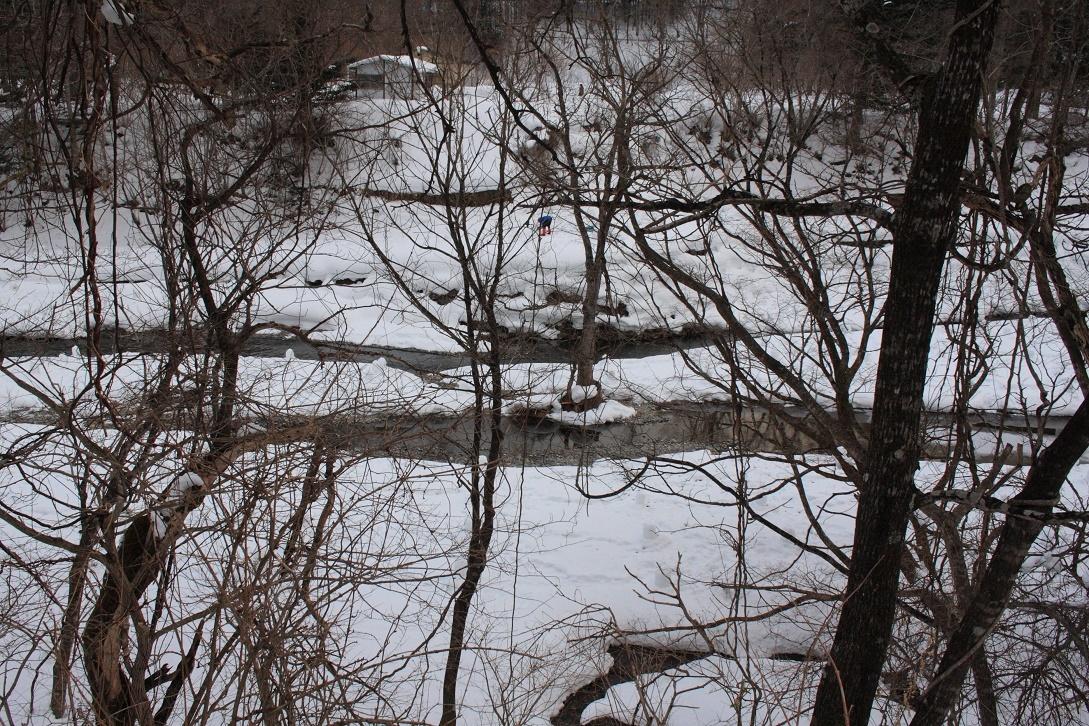 日光市湯西川の雪景色18⑫
