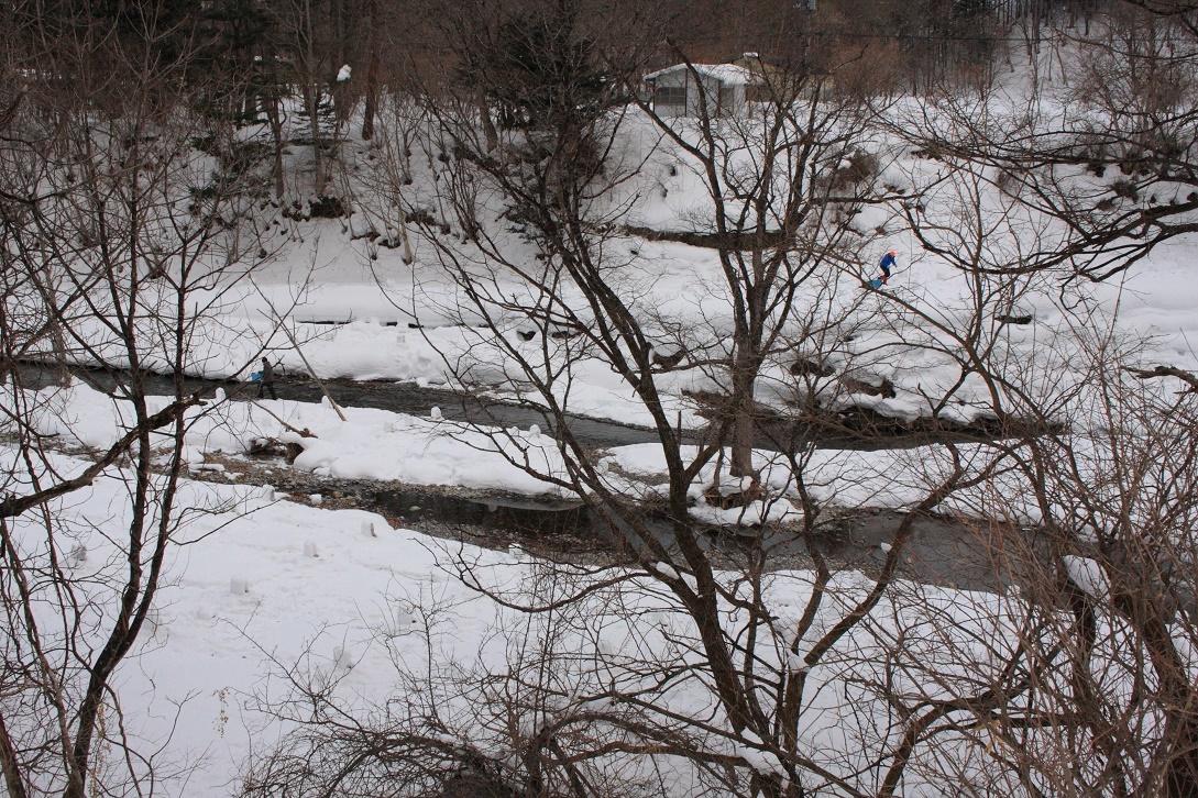 日光市湯西川の雪景色18⑬