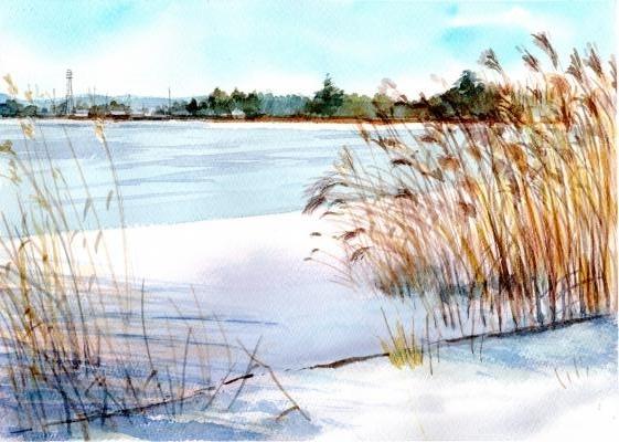 雪の伊佐沼Ⅱ