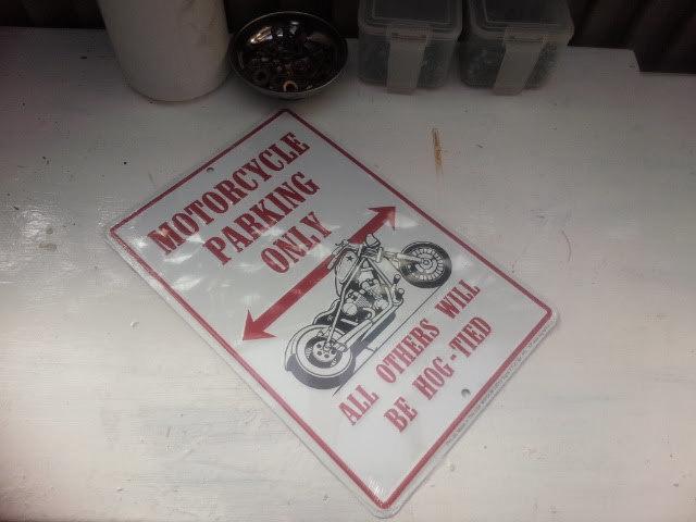 バイク看板001