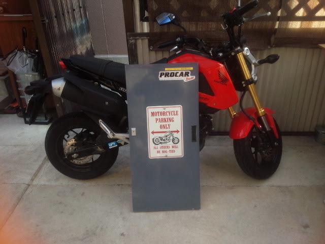 バイク看板003