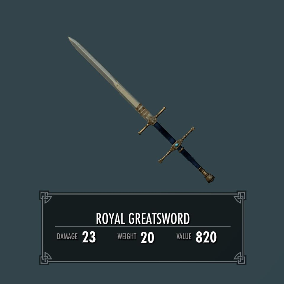 RoyalGreatswordSK 010-1 Info 2HS 1