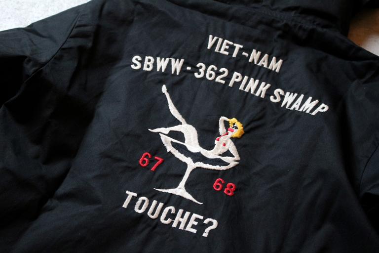 STORM BECKER SBWW PINK SWAMP VIET-NAM HOOD JACKET3