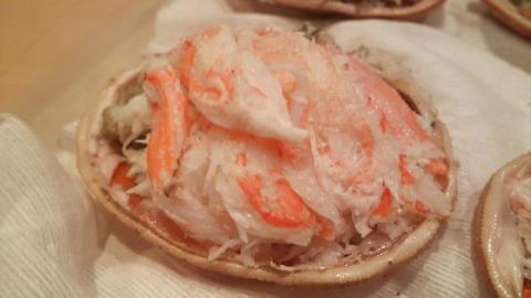 香箱蟹、セコガニ