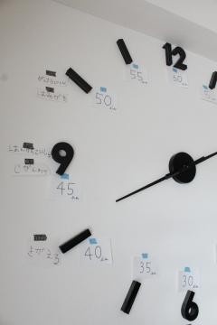 朝のお支度に悩まない時計の工夫