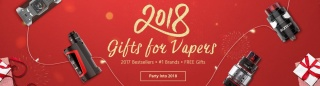 Gearbest 2018 gifts for vapers