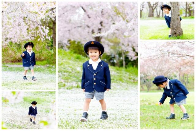 記念 青森県 弘前市 出張 写真 撮影 カメラマン 春 キッズ ロケーション 卒園 卒業 入学 入園 桜 子ども