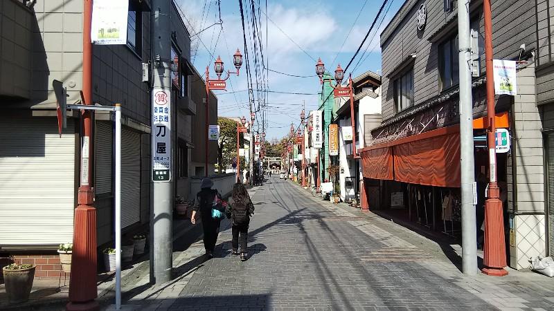 秩父神社商店街201803