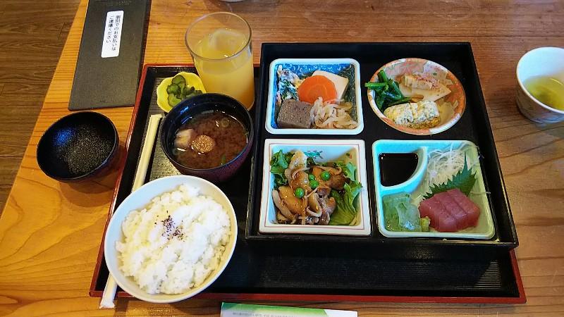 夕食道の駅飯高駅