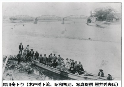 木戸橋下流(提供 熊井秀夫氏)